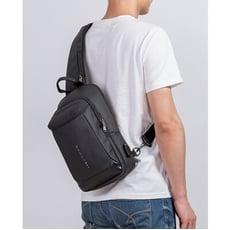 義大利品牌BANGO質感尼龍斜背包 側背包 防潑水 男用包包 男用側背