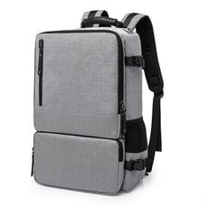 極簡設計原宿風格 韓版防盜科技手提 肩背 後背多功能三用大容量商務包 筆電包