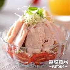 【富統食品】夏日輕食!!調味鮮嫩熟雞胸肉(1000g/包)