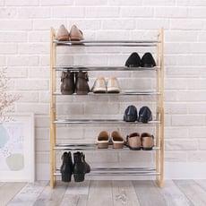 【LIGFE立格扉】簡配版可堆疊三層鞋架