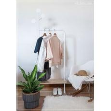 【LIGFE立格扉】樹大人衣帽架 Clothes Stand With 2-MDF Shelf