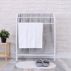無印風/極簡/北歐風/無痕站立式/落地曬毛巾桿架/衛浴/浴室浴巾架