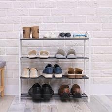 【LIGFE立格扉】北歐風四層簡易鞋架