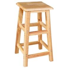 【MSL】實木方椅凳 (高80cm)