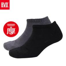 BVD氣墊男踝襪10雙組(+厚款)-B501