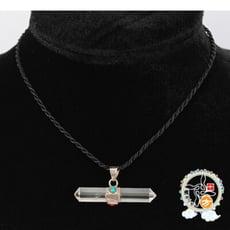水晶柱項鍊 【十方佛教文物】