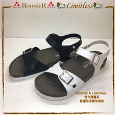 ROOSTER公雞 基本款休閒拖鞋精緻手工鞋涼鞋女生涼鞋 A2337