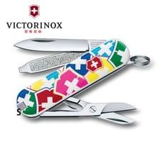 VICTORINOX 瑞士維氏 Classic SD 7用 瑞士刀 (繽紛瑞士彩色盾牌 / 6cm