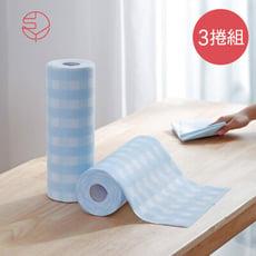 【日本霜山】超吸力去汙拋棄式不織布抹布-3捲組