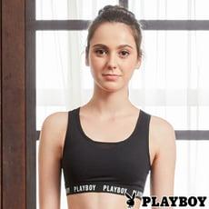 【PLAYBOY】性感包覆網紗美背瑜珈內衣