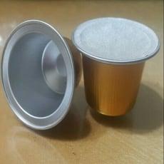 相容雀巢nespresso咖啡機的自行填充鋁膠囊殼(100顆)