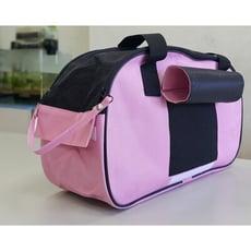 新款寵物粉紅骨頭包 寵物外出袋 提袋 兩用寵物外出提籠 外出包 手提袋 狗包 貓包