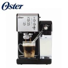 【美國Oster】奶泡大師二代+隨享義式咖啡機-經典銀(義式/膠囊兩用) BVSTEM6701SS