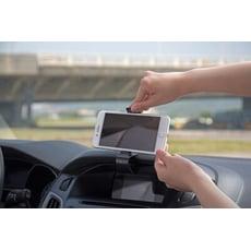車用手機架(儀表板式)360度旋轉 ABS塑膠材 雙弧形底座 LB-8027HO利百代LIBERTY