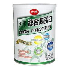 【隨機送隨身包】大禾綜合高蛋白 (奶素) 500公克/罐 優質蛋白質 調節生理機能 增強體力