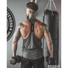 夏季薄款男士運動彈力速干背心健身訓練衣緊身男式背心 遇见生活