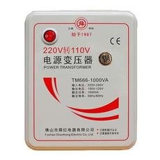 有接地才安全 舜紅1000W變壓器 110V轉220V 110轉220 大陸電器台灣用