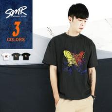 短T-落肩蝴蝶短T-圖案造型款《9990T219》-共3色【現貨+預購】『SMR』