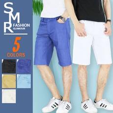 『SMR』簡約色短褲-熱銷基本款式-7色任選《02167007》