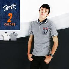 『SMR』彈力衫07印花Polo-2色任選《05318452》