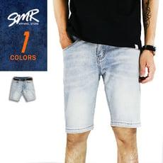 短褲-普洗素牛仔短褲-街頭百搭款《99905176》藍色【現貨+預購】『SMR』