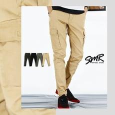 『SMR』彈力寬鬆多口袋彈力舒適款工作褲-四色任選《99978029》