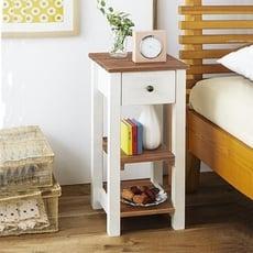 英式鄉村床頭櫃 (不需組裝)