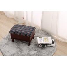 英倫 Joa 經典收納寶貝椅 矮凳-格子