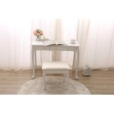 法式公主 浪漫鑽石兩抽書桌 化妝桌-(單桌子)