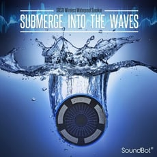 美國聲霸SoundBot SB531 吸盤漂浮喇叭藍芽防水LED無線FM廣播 藍牙喇叭 音響音箱