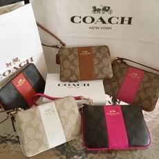 限時特賣【COACH】經典暢銷多款限量手拿包 母親節最愛媽咪 特惠活動