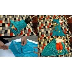 特價399 美國 頂級進口 粉紅 天鵝絨 背心式 睡袋 觸感超好 寶寶 睡袋 防踢被 兒童 寶寶 嬰