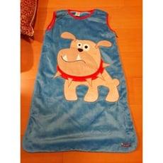 寒流來襲 不怕冷 粉紅 天鵝絨 背心式睡袋 觸感超好 寶寶睡袋 防踢被 - 小: 65 * 45CM