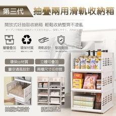 長江PHONE✨第三代抽疊兩用滑軌收納箱(低款)