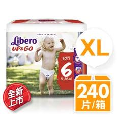 【麗貝樂】 敢動褲6號-XL 超薄型 (40片x6包/箱)