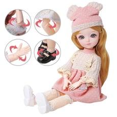 多關節可動換裝芭比娃娃禮盒 換裝娃娃公主31公分-BEL9329