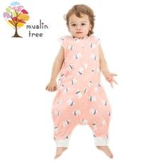 Muslin tree兒童分腿睡袋嬰兒紗布防踢被-MT2638