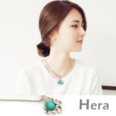 【Hera 赫拉】波西米亞系列鏤空水鑽項鍊/鎖骨鍊-大象款