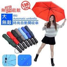 超大無敵時尚自動開收傘