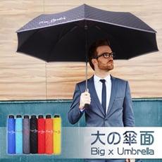 大傘面防風反光晴雨折傘