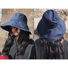 防曬必備棉麻大帽檐漁夫帽防曬帽出遊百搭遮陽帽