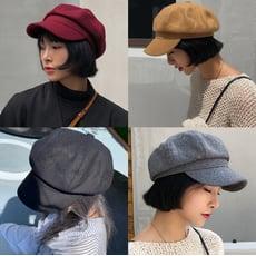 👍質感超好秋冬毛尼八角帽貝蕾帽報童帽畫家帽子