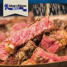 【豪鮮牛肉】藍絲帶黑安格斯Prime凝脂嫩肩牛排(100g±10%/片)