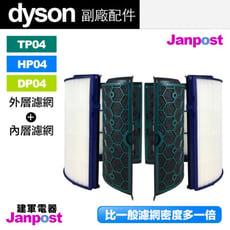 Dyson 戴森 超高密度 副廠濾網 TP04 HP04 DP04 空氣清淨機 內層+外層 濾網
