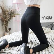 【Amore】鯊魚皮顯瘦高彈束腰提臀壓力褲