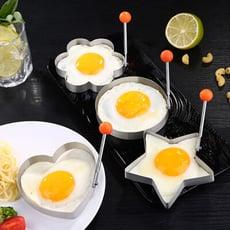 PUSH!廚房用品304加厚不銹鋼煎蛋器煎蛋塑形器模型荷包蛋煎蛋模具D196