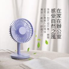 風扇 USB桌上風扇 5吋大風扇 (USB供電,無電池)