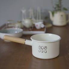 刀叉系列木柄琺瑯鍋 1.5L