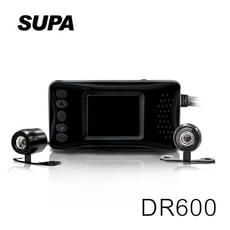 速霸 DR600 HD 雙鏡頭 防水防塵 高畫質機車行車記錄器【凱騰】