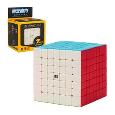 魔方格七階比賽專用魔術方塊(六色螢光版)(授權)【888便利購】